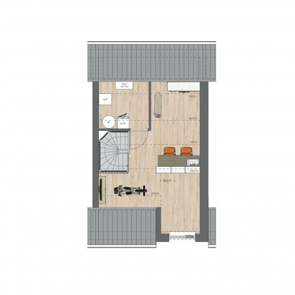 Tussenwoningen type B - Koning Arthurlaan, bouwnummer 19