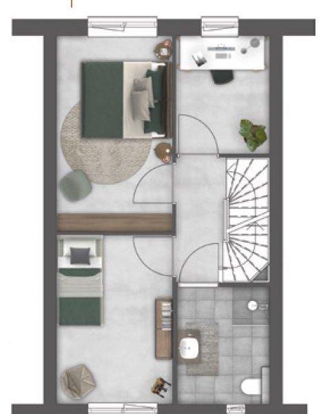 Singelwoningen, bouwnummer 76