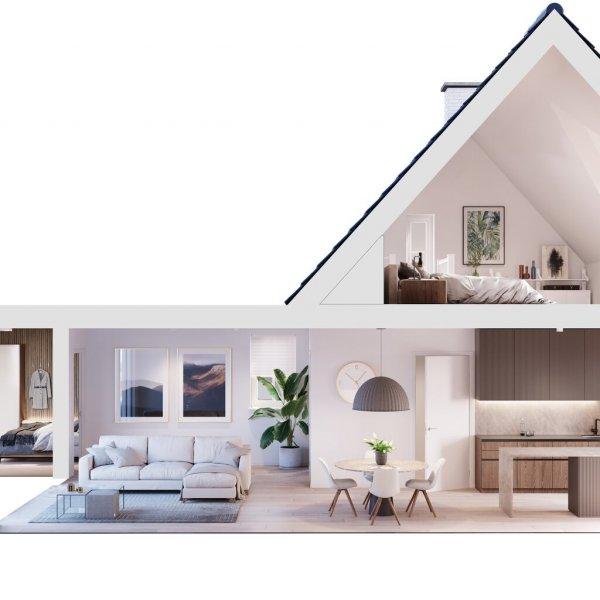 Semi-bungalow   Living Liverdonk, bouwnummer 24