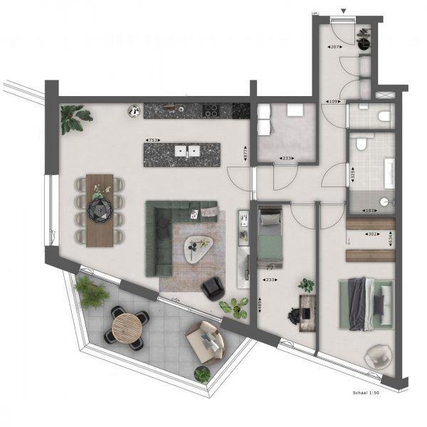 Op de Terp - luxe appartementen - Lents Buiten, bouwnummer 313