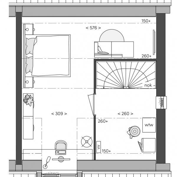 Hoekwoning Diepzicht, bouwnummer 1