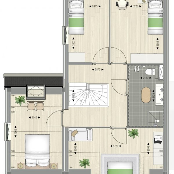 Kas van een huis, bouwnummer 41
