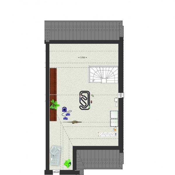 Tweekapper met garage type A, bouwnummer 905