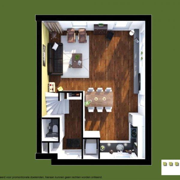 Twee-onder-een kapwoning, bouwnummer 35