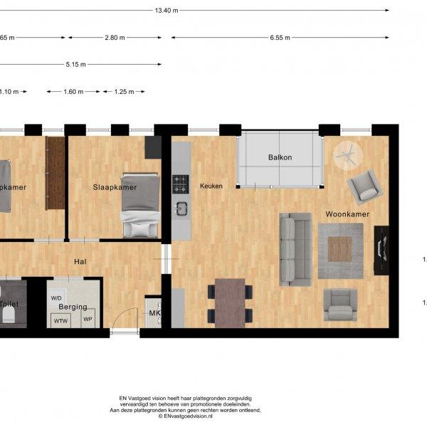 Pakhuizen 1 ''Royal residence'', bouwnummer 7