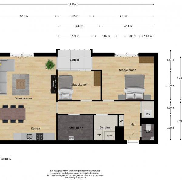 Pakhuizen 1 ''Royal residence'', bouwnummer 1