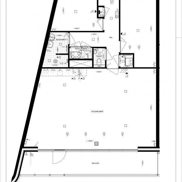 Type C - Ruysdaelkade, bouwnummer 40