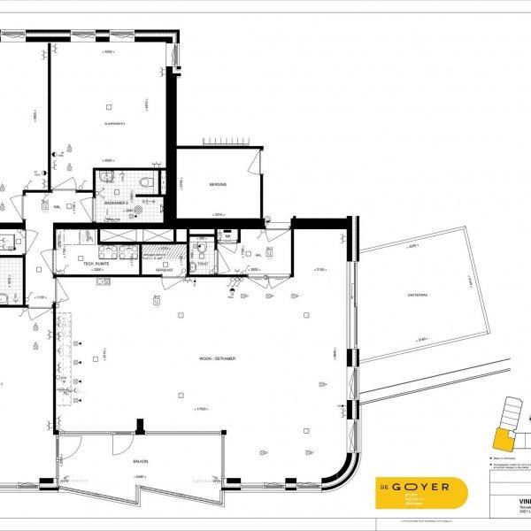 Type P - Penthouse, bouwnummer 52