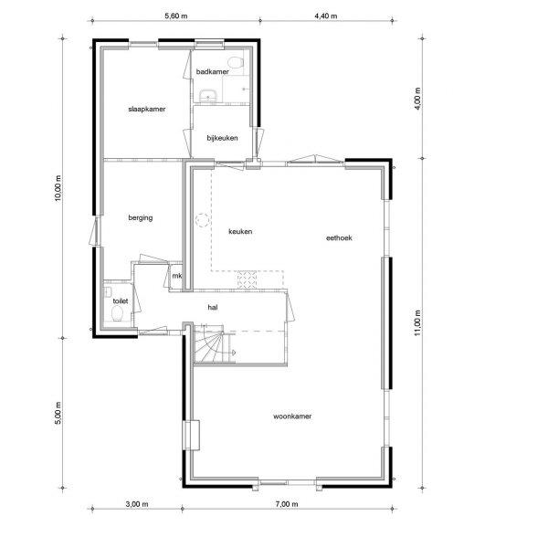 Vrijstaand wonen Leek | De Hoven, bouwnummer 1