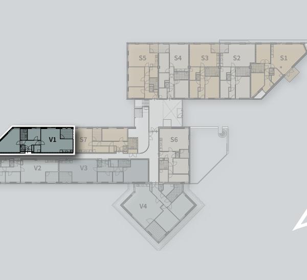 Appartementen, bouwnummer 1