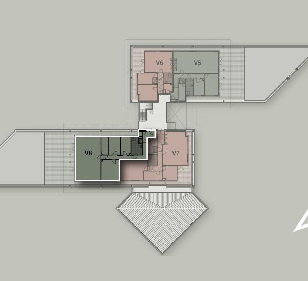Penthouses, bouwnummer 8