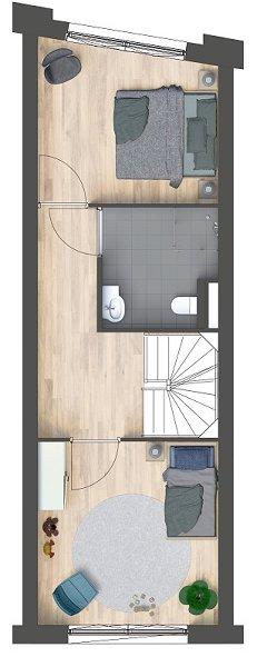 Herenhuizen - doorsteek, bouwnummer 24