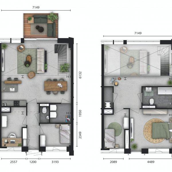 Houtbij, lofts, bouwnummer 103