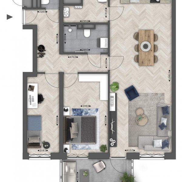 Tender (98 m²), bouwnummer 2