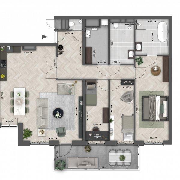 Barkas (141 m²), bouwnummer 35