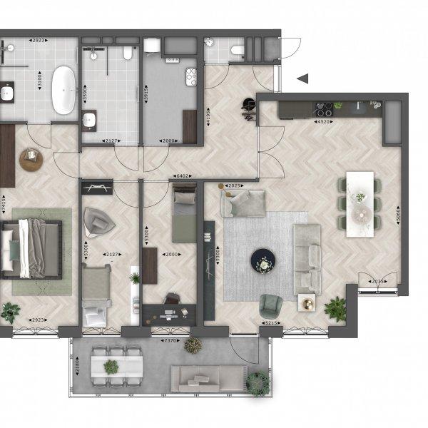Spitsgatter (140 m²), bouwnummer 36