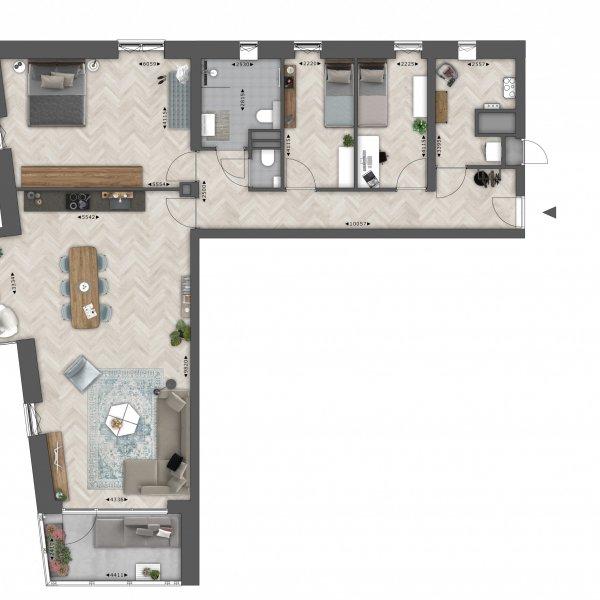 Vlet (134 m²), bouwnummer 5