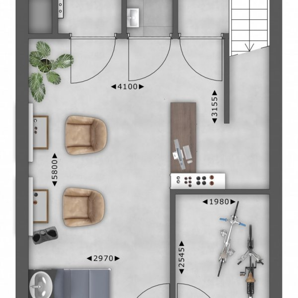 Atelier - Commandeur, bouwnummer 8