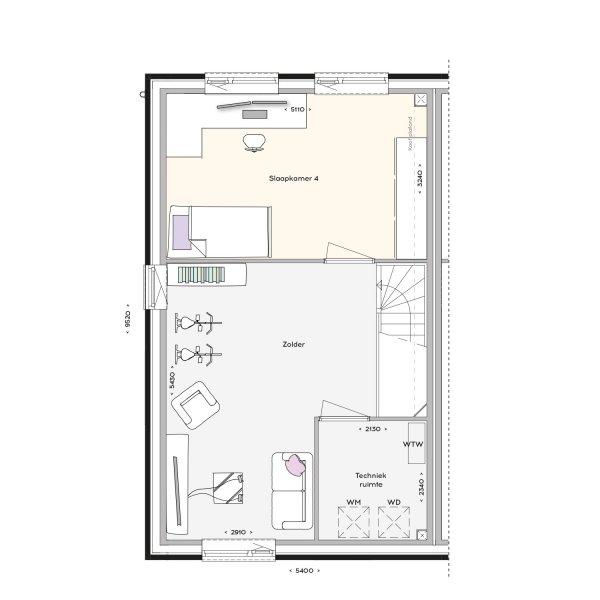 Stadsvilla, bouwnummer 43