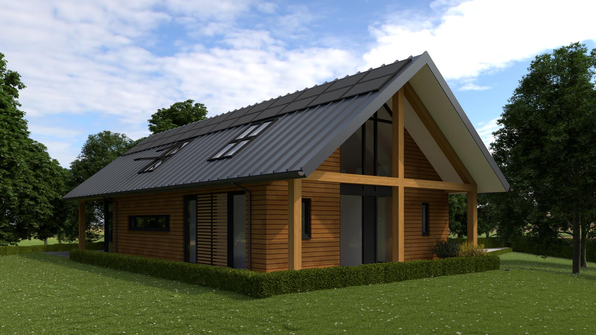 kosten houten woning bouwen