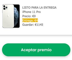 ES - iPhone 11 Pro Amazon - Mercadona Checkout - Funnel - 5