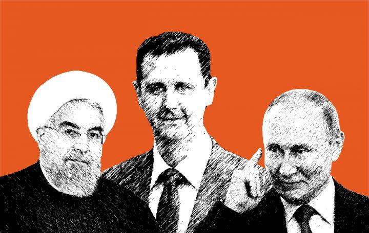 Rouhani, Assad and Putin