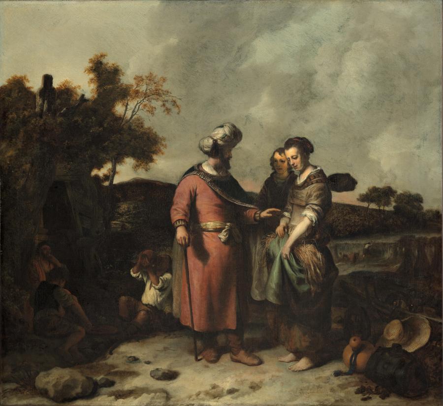 Boaz And Ruth Museum Boijmans Van Beuningen