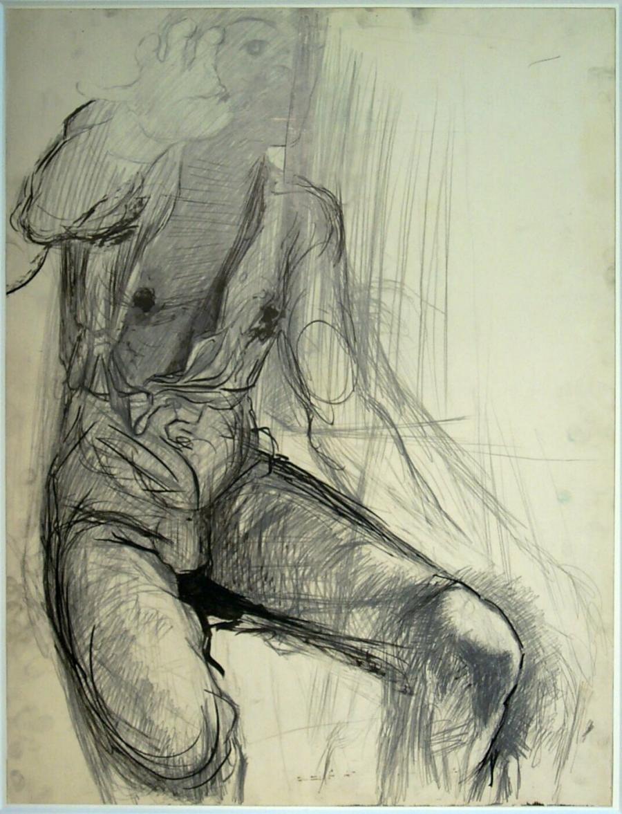 Zelfportret (studie voor 'Impressions d'Afrique' I)