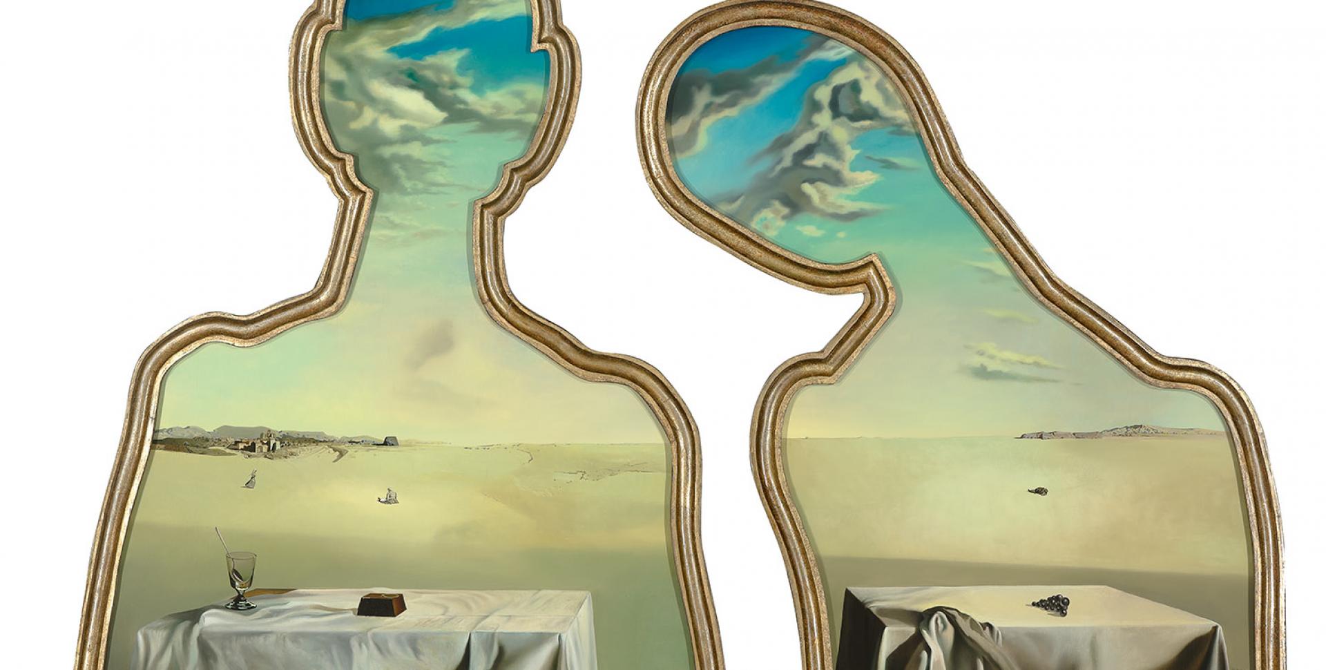 Restaureren In Een Tentoonstellingszaal Salvador Dali Museum