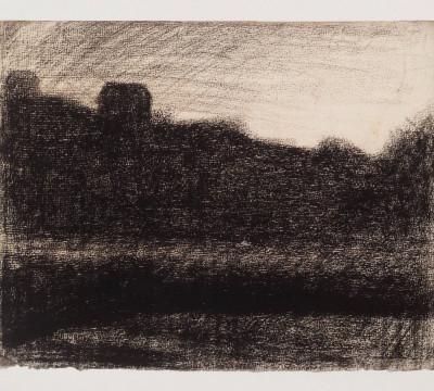 Georges Pierre Seurat, Landscape at Sunset, c. 1882 - 1883, Museum Boijmans Van Beuningen