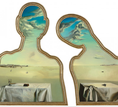 Salvador Dalí, Couple aux têtes pleines de nuages, 1936, Museum Boijmans Van Beuningen, Rotterdam. © Salvador Dalí, Fundación Gala-Salvador Dalí, c/o Pictoright Amsterdam 2017