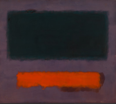 Mark Rothko, Grey, Orange on Maroon, No. 8, Museum Boijmans Van Beuningen, Rotterdam. c/o Pictoright 2017 Amsterdam