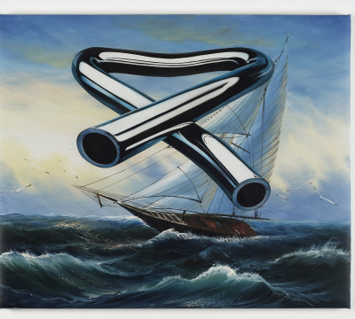 Scott King, Tubular Bells 4, 2008, Courtesy of the artist and Herald St, London. Foto, Andy Keate
