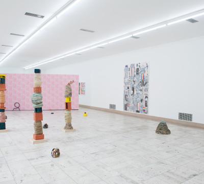 Exhibition overview 'Project Rotterdam - Koen Taselaar.' Photo: Lotte Stekelenburg