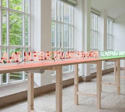 Zaaloverzicht 'Sarkis - Respiro' Foto: Lotte Stekelenburg