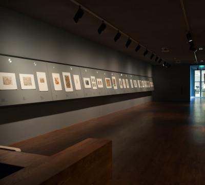 Exhibition overview 'Early Netherlandish Drawings' Photo: Lotte Stekelenburg