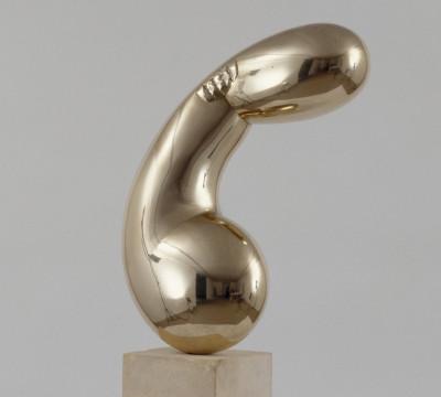 Constantin Brancusi, Princesse X (Prinses X),1915-1916, brons, 61,7 x 40,5 x 22,2 cm. Collectie Centre Pompidou, MNAM-CCI, Parijs. Foto Adam Rzepka.