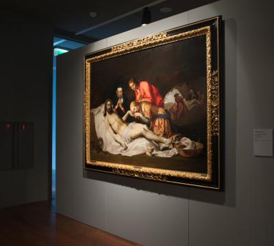 Zaaloverzicht 'Vroege Nederlandse Tekeningen' Foto: Lotte Stekelenburg