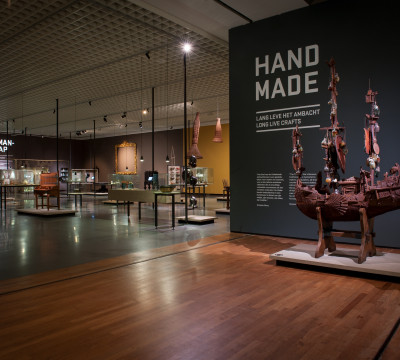Exhibition overview 'Hand Made' Photo: Lotte Stekelenburg