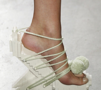 Winde Rienstra, Lego Heels. Foto: Peter Stigter