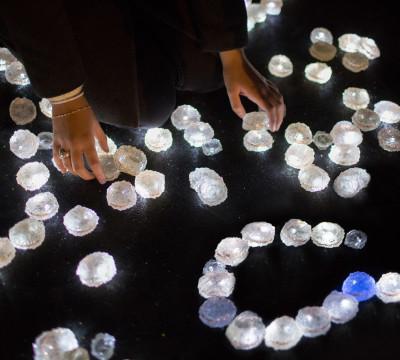 Daan Roosegaarde, titel: Crystal. Foto: Studio Roosegaarde