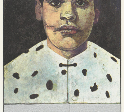 Peter Blake, Pretty Boy Michael Angelo (detail), 1972, Museum Boijmans Van Beuningen