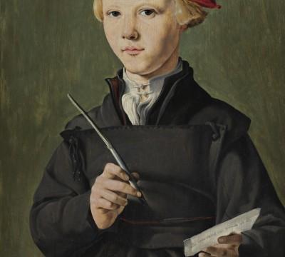Jan van Scorel, Portrait of a Young Student, 1531, Museum Boijmans Van Beuningen, Rotterdam.