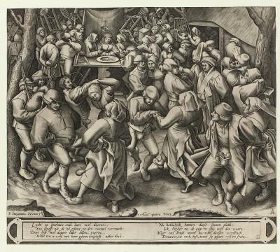 Pieter van der Heyden, The Peasant Wedding Dance, c.1570-1572, Museum Boijmans Van Beuningen, Rotterdam. From the estate of Dr. J.C.J. Bierens de Haan 1951