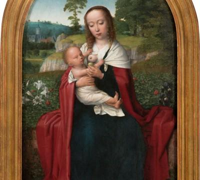 Gerard David, Virgin and Child in a Landscape, c. 1520, Museum Boijmans Van Beuningen, Rotterdam. Acquired with the collection of D.G. van Beuningen