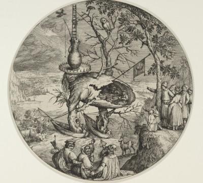 Jheronimus Bosch, The Tree-Man, c. 1590 – 1610, Museum Boijmans Van Beuningen, Rotterdam. From the estate of Dr. J.C.J. Bierens de Haan 1951