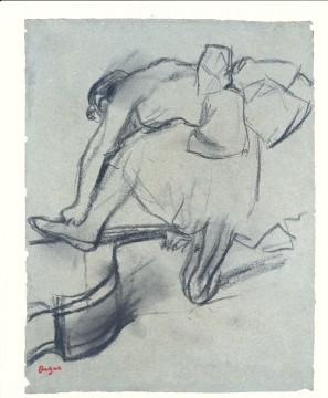 Edgar Degas, Danseres met contrabas, 1880, Museum Boijmans Van Beuningen, Rotterdam. Legaat Vitale Bloch 1976