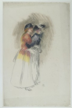 Auguste Renoir, Two women, walking to the right, c. 1890, Museum Boijmans Van Beuningen, Rotterdam (former collection Koenigs)
