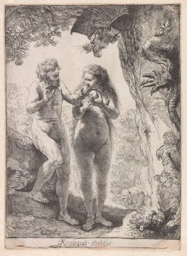 Rembrandt van Rijn, Adam en Eva, 1638, Museum Boijmans Van Beuningen, Rotterdam / Creditline fotograaf: Rik Klein Gotink, Harderwijk