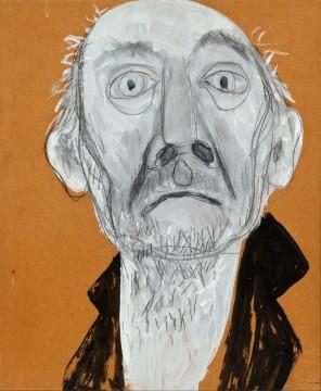 Kees Timmer, Zelfportret 1, 1968,  Museum Boijmans Van Beuningen, Rotterdam. Overdracht: Centrum Beeldende Kunst Rotterdam 1993